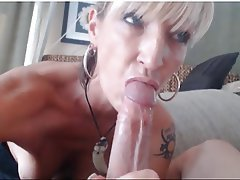 Big Boobs Blonde Blowjob MILF