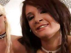 Anal Interracial Threesome