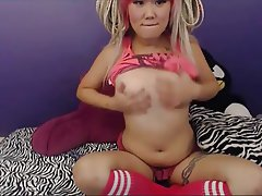 Asian Piercing Nipples