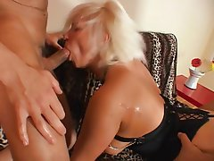 Anal Blowjob Blonde Double Penetration