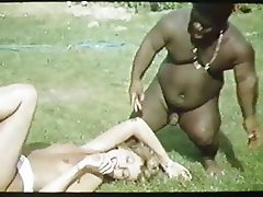 French Group Sex Interracial Vintage