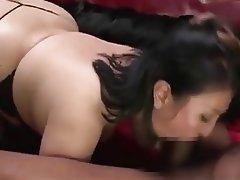 Asian BBW Hardcore Threesome