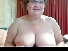 Big Boobs Granny Masturbation Webcam