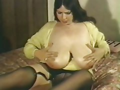BBW Big Boobs Mature Stockings Vintage