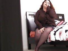 BBW BDSM Bondage Mature Stockings