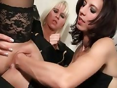 Close Up Anal Lesbian Lingerie