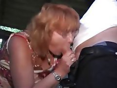 Blowjob Handjob Mature Nylon