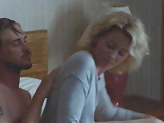 Babe Blonde Lingerie MILF