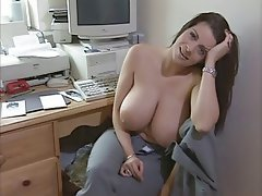 Brunette Big Boobs Pornstar