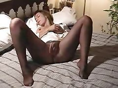 Amateur Masturbation Orgasm Stockings