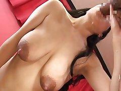 Asian Big Boobs MILF Nipples