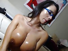 Blowjob MILF POV Webcam