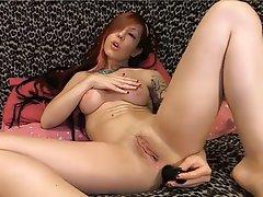 Anal Masturbation Redhead Webcam