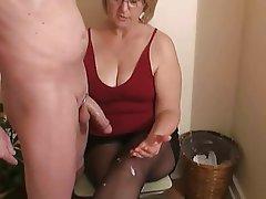 Granny Handjob Mature