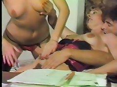 German Group Sex Hairy MILF Stockings
