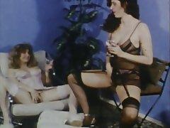 Hairy Lesbian MILF Stockings