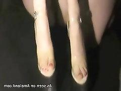 Feet Fetish Amateur Blowjob
