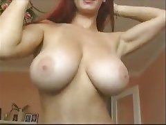 Big Boobs German MILF Redhead