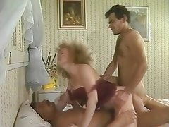 Vintage Group Sex Double Penetration Cuckold Threesome