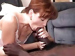 Cumshot Interracial Mature MILF