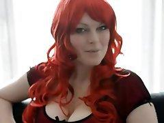 Babe Big Boobs Redhead