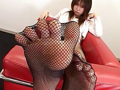 Asian Foot Fetish Japanese Stockings