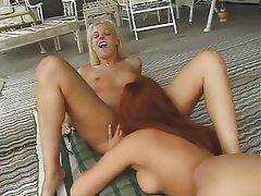 Lesbian Blonde Brunette