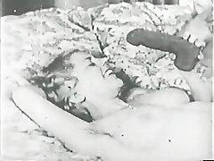 Vintage Lesbian Blonde Brunette