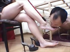 BDSM CFNM Femdom Foot Fetish Japanese