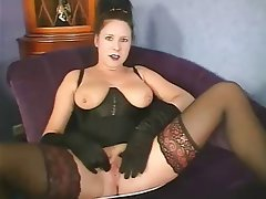 Big Boobs Brunette German Mature Vintage