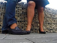 Foot Fetish MILF Nylon POV