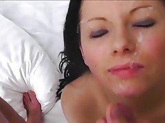 Cumshot Facial POV