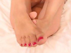 Close Up Foot Fetish POV