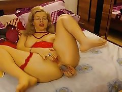 Anal Blonde MILF Webcam