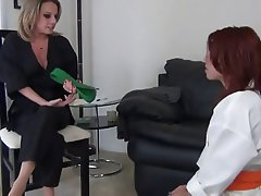 Foot Fetish Lesbian Stockings