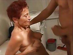 MILF Mature Masturbation Handjob