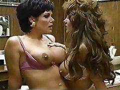 Babe Big Boobs Lesbian Pornstar