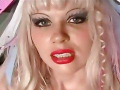 BDSM Blonde Femdom Latex