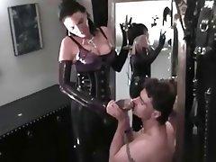 Big Boobs Brunette Femdom German