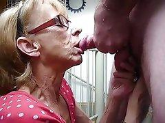 Blowjob Granny