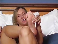 Blonde Foot Fetish