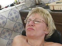 Blonde Cumshot Granny Hairy