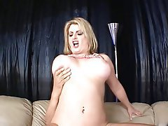 Blowjob Big Boobs Blonde MILF Hairy