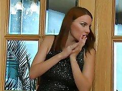 BDSM Femdom Redhead Russian