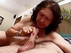 Big Boobs Blowjob Cumshot Granny