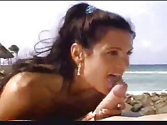 Babe Beach Blowjob Handjob