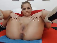 Anal Masturbation Webcam