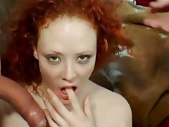 Anal Blowjob Threesome Double Penetration