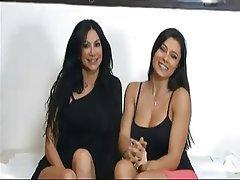 Bisexual Brunette Italian Lesbian