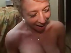 Blonde Facial Hardcore Mature